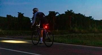 SIGMA SPORT - LED Fahrradlicht Set Aura 80 und BLAZE | StVZO zugelassenes, akkubetriebenes Vorderlicht und Rücklicht mit Bremsfunktion - 4