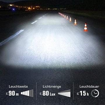 SIGMA SPORT - LED Fahrradlicht Set Aura 80 und BLAZE | StVZO zugelassenes, akkubetriebenes Vorderlicht und Rücklicht mit Bremsfunktion - 6