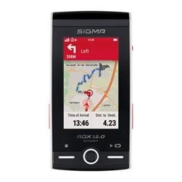 SIGMA SPORT ROX 12.0, GPS Fahrradcomputer mit Kartennavigation und Farbdisplay - 1