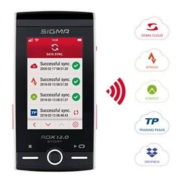 SIGMA SPORT ROX 12.0, GPS Fahrradcomputer mit Kartennavigation und Farbdisplay - 4