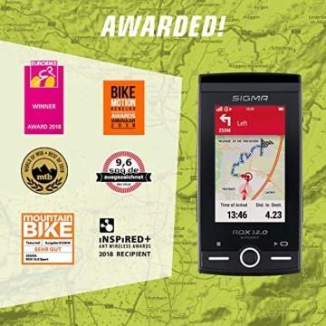 SIGMA SPORT ROX 12.0, GPS Fahrradcomputer mit Kartennavigation und Farbdisplay - 7