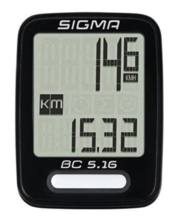 Sigma Sport Sigma BC 5.16 Fahrradcomputer, Schwarz, One size - 2