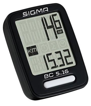 Sigma Sport Sigma BC 5.16 Fahrradcomputer, Schwarz, One size - 6