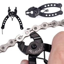 Souarts Zange Kette Werkzeuge Fahrradkettenzange Werkzeug Kettenverschlussgliedzange Kette Bike Kette Werkzeug kompatibel mit Chains Reparatur - 1