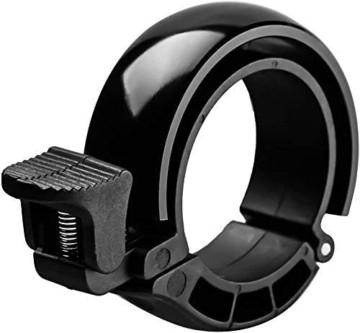 Suerte Mini Innovative O-Bike-Klingel, unsichtbare Fahrradklingel, Fahrrad-Mountainbike-Alarmhornhornring, Klingel laut, Sicherheitsalarm, für 22,2-23 mm Lenker - 1