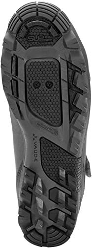 VAUDE Uni AM Downieville Mid Mountainbike Schuhe, Iron, 37 EU - 2