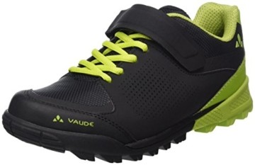 VAUDE Unisex AM Downieville Low Mountainbike Schuhe, Black/Chute, 44 EU - 1