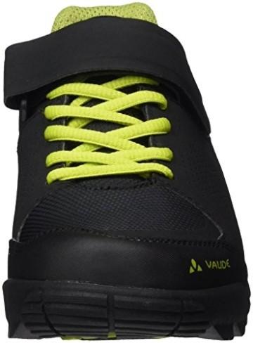 VAUDE Unisex AM Downieville Low Mountainbike Schuhe, Black/Chute, 44 EU - 2