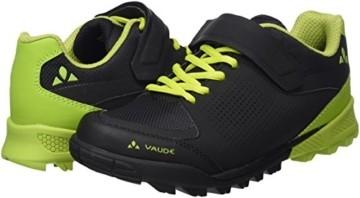 VAUDE Unisex AM Downieville Low Mountainbike Schuhe, Black/Chute, 44 EU - 3