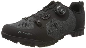 VAUDE Unisex Men's TVL Skoj Radschuhe, Black, 44 EU - 1