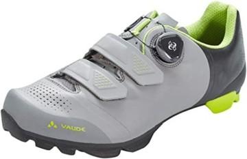 VAUDE Unisex MTB Snar Advanced Mountainbike Schuhe, Anthracite, 39 EU - 1
