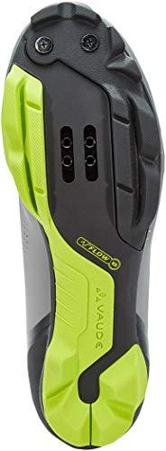 VAUDE Unisex MTB Snar Advanced Mountainbike Schuhe, Anthracite, 39 EU - 4