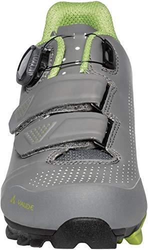 VAUDE Unisex MTB Snar Advanced Mountainbike Schuhe, Anthracite, 39 EU - 5