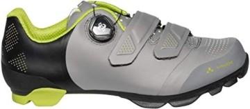 VAUDE Unisex MTB Snar Advanced Mountainbike Schuhe, Anthracite, 39 EU - 7