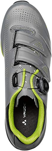 VAUDE Unisex MTB Snar Advanced Mountainbike Schuhe, Anthracite, 39 EU - 9