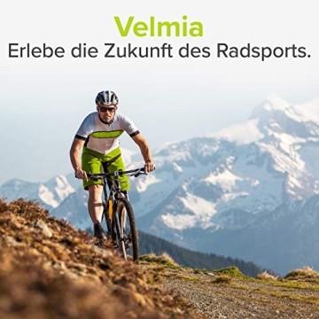 Velmia Fahrradlicht Vorne StVZO zugelassen mit USB Akku-Betrieb und 8,5h Leuchtdauer I LED Fahrrad Licht regenfest und aufladbar I Front Fahrradlampe - 9