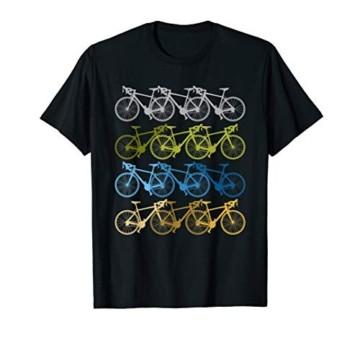 Vintage Fahrräder Biker Retro Fahrrad Radsport Xmas Geschenk T-Shirt - 1