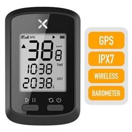 Xoss G GPS-Fahrradcomputer, kabellos, Tacho, Kilometerzähler, Rad-Tracker, wasserdicht, für Rennrad, MTB, Fahrrad, Bluetooth, g - 1