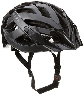 ALPINA PANOMA CLASSIC Fahrradhelm, Unisex– Erwachsene, black, 56-59 - 1