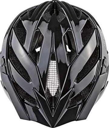 ALPINA PANOMA CLASSIC Fahrradhelm, Unisex– Erwachsene, black, 56-59 - 4