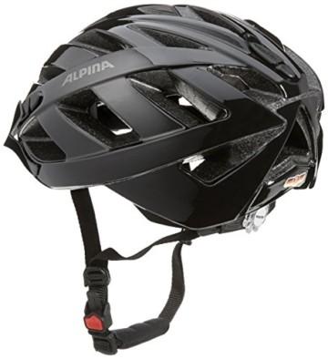 ALPINA PANOMA CLASSIC Fahrradhelm, Unisex– Erwachsene, black, 56-59 - 6