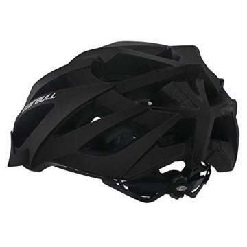 Cairbull Größe M und L Specialized Fahrradhelm MTB Helm Mountainbike Helm Herren & Damen Schwarz mit Rucksack Fahrrad Helm Integral 21 Belüftungskanäle (Grau, M/L (55-61CM)) - 2