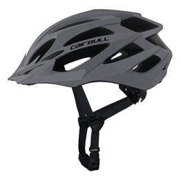 Cairbull Größe M und L Specialized Fahrradhelm MTB Helm Mountainbike Helm Herren & Damen Schwarz mit Rucksack Fahrrad Helm Integral 21 Belüftungskanäle (Grau, M/L (55-61CM)) - 1