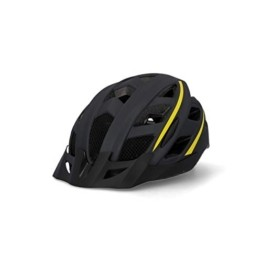 Fischer Unisex– Erwachsene Fahrradhelm, Montis schwarz, S/M 52-59 - 1