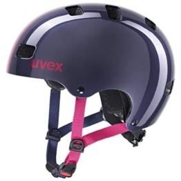 uvex Unisex Jugend Kid 3 Fahrradhelm, Race Midnight, 55-58 cm - 1