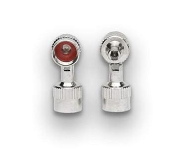 4er-Set Metall-Ventilkappen mit Schlüssel Ventilschlüsselkappe Ventilkappenausdreher für Auto Fahrrad Motorrad und Roller Autoventilkappen Radventilkappe car Valve caps Staubkappen für Auto - 7