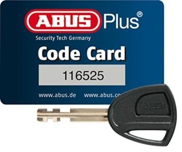 ABUS Faltschloss Bordo 6000/90 mit Schlosstasche - Fahrradschloss aus gehärtetem Stahl - Sicherheitslevel 10 - 90 cm - 51798 - Schwarz - 2