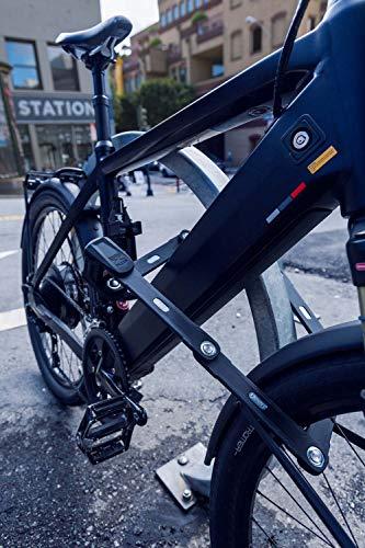 ABUS Faltschloss Bordo 6000/90 mit Schlosstasche - Fahrradschloss aus gehärtetem Stahl - Sicherheitslevel 10 - 90 cm - 51798 - Schwarz - 4
