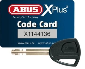 ABUS Kettenschloss Granit CityChain XPlus 1060/110 – Fahrradschloss aus gehärtetem Stahl – Sicherheitslevel 15 – 110 cm – 28623 – Schwarz - 7