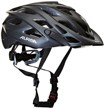 ALPINA D-ALTO L.E. Fahrradhelm, Unisex– Erwachsene, black matt, 57-61 - 1