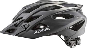 ALPINA D-ALTO L.E. Fahrradhelm, Unisex– Erwachsene, black matt, 57-61 - 5