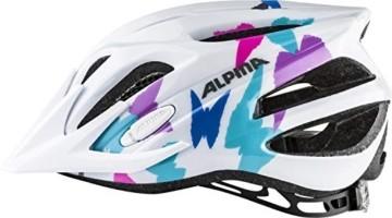 ALPINA FB jr. 2.0 Fahrradhelm, Kinder, white butterfly, 50-55 - 2
