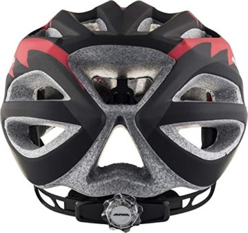 ALPINA FB JR. 2.0 LE Fahrradhelm, Kinder, black-red-white matt, 50-55 - 4