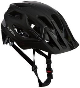 ALPINA Garbanzo Fahrradhelm, Unisex– Erwachsene, black, 57-61 - 1