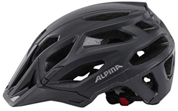 ALPINA Garbanzo Fahrradhelm, Unisex– Erwachsene, black, 57-61 - 3