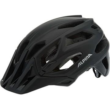 ALPINA Garbanzo Fahrradhelm, Unisex– Erwachsene, black, 57-61 - 5