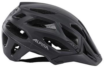 ALPINA Garbanzo Fahrradhelm, Unisex– Erwachsene, black, 57-61 - 6