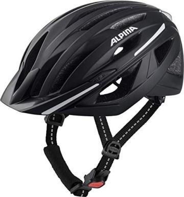 ALPINA HAGA Fahrradhelm, Unisex – Erwachsene - 1