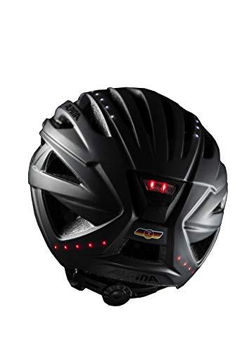 ALPINA HAGA LED Fahrradhelm, Unisex– Erwachsene, black matt, 51-56 - 5