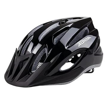 ALPINA MTB 17 Fahrradhelm, Black, 58-61 cm -