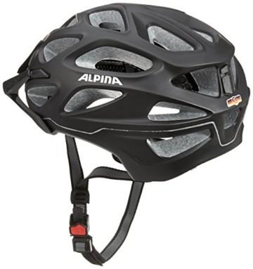 ALPINA MYTHOS 3.0 LE Fahrradhelm, Unisex– Erwachsene, black matt, 52-57 - 2