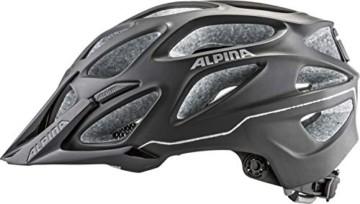 ALPINA MYTHOS 3.0 LE Fahrradhelm, Unisex– Erwachsene, black matt, 52-57 - 6