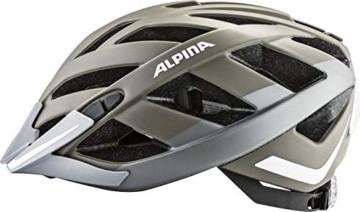 ALPINA PANOMA 2.0 CITY Fahrradhelm, Unisex– Erwachsene, sepia-titanium matt reflective, 52-57 - 5