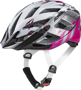 ALPINA PANOMA 2.0 Fahrradhelm, Unisex– Erwachsene, pearlwhite-magenta, 52-57 - 1
