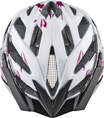ALPINA PANOMA 2.0 Fahrradhelm, Unisex– Erwachsene, pearlwhite-magenta, 52-57 - 3