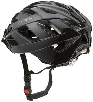 ALPINA PANOMA CLASSIC Fahrradhelm, Unisex– Erwachsene, black, 52-57 - 2